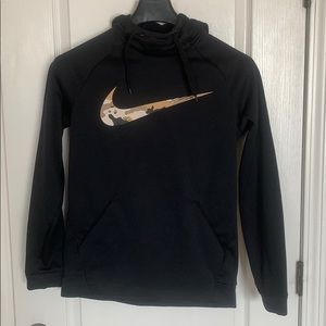 Nike Dri Fit Camo Training Hoodie